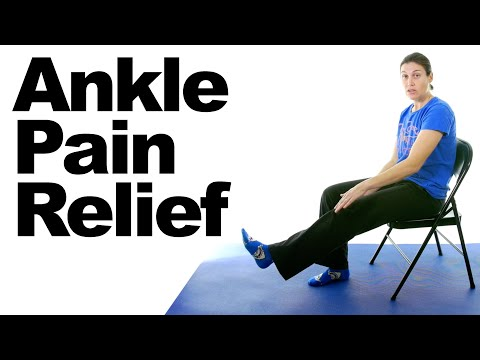 Ankle Pain Relief Stretches 5 Minute Real Time Routine