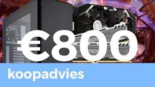 De Beste Game PC voor 800 EURO! - Koopadvies - TechTime