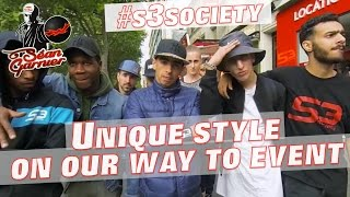 Séan GARNIER & #S3society walking in Paris with AMAZING SKILLS @seanfreestyle @s3society