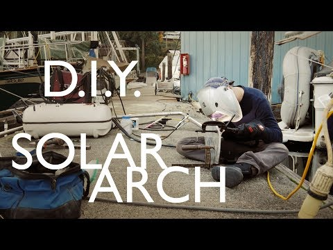 I Hope We Don't Mess This Up!! - Walde Sailing ep.19 (DIY Solar Arch Build)