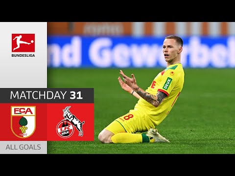 Augsburg Köln Goals And Highlights