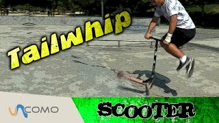 Trucos patinete scooter - Tailwhip