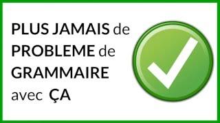 PLUS JAMAIS DE FAUTES DE GRAMMAIRE AVEC CETTE APPLICATION