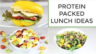 3 Easy Healthy Protein Packed Lunch Ideas thumbnail