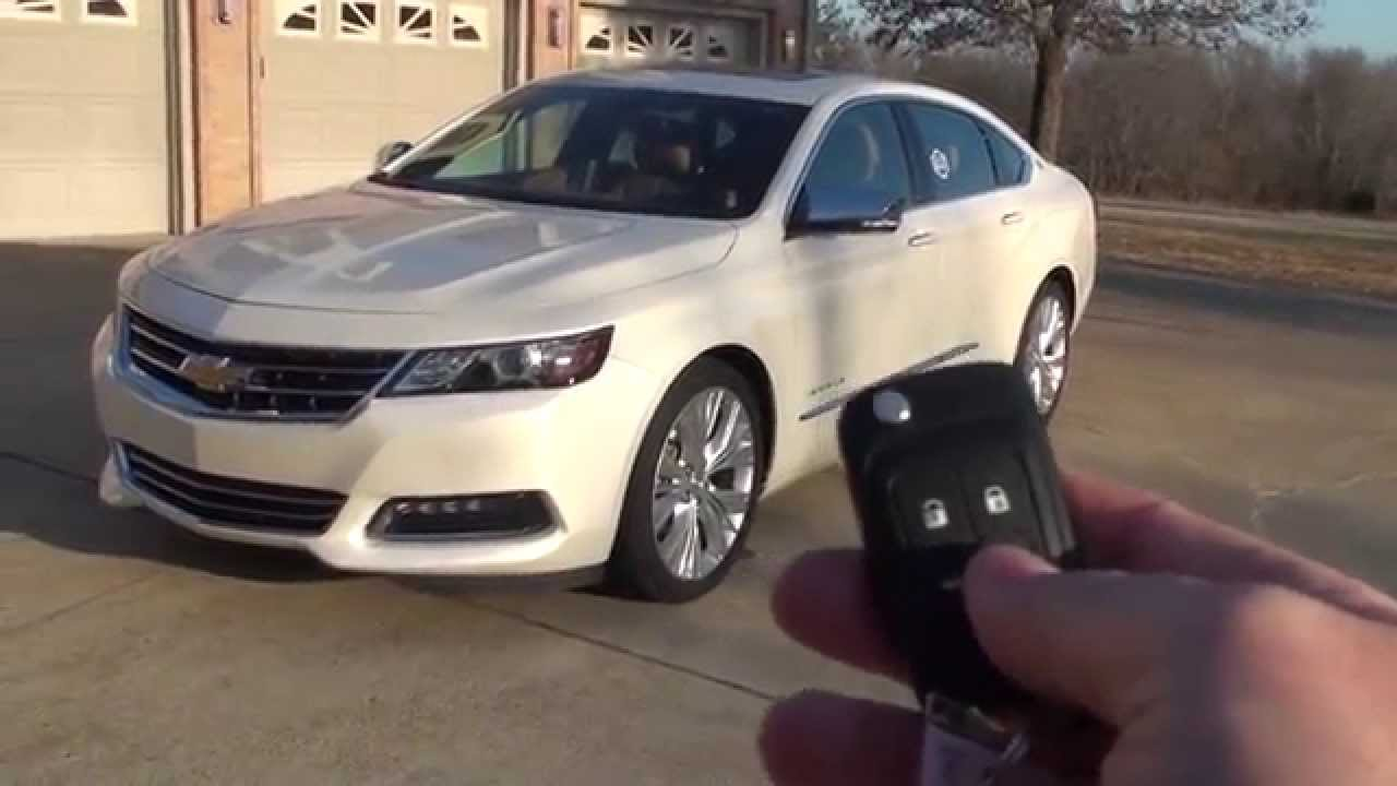 HD VIDEO 2014 CHEVROLET IMPALA LTZ WHITE USED FOR SALE SEE