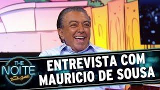 The Noite (27/10/15) - Entrevista com Mauricio de Sousa