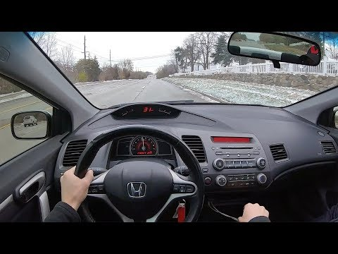 2008 Honda Civic Si with 214,000 miles - POV Review