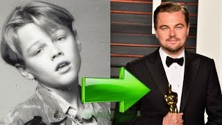 leonardo di caprio then and now