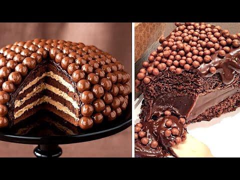 15+ Unique Chocolate Cake Decorating Recipes 🍫 So Yummy Cake Decorating Ideas 🍫 Mr Cakes
