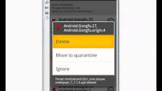 Dr. Web Mobile Antivirus - Android Malware,Trojan,Virus detection test