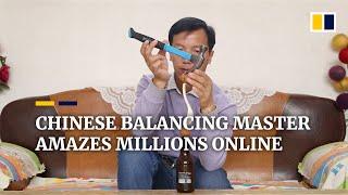 Chinese balancing master amazes millions online