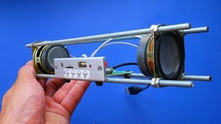 WOW! Building Bluetooth Speąker with a ROPE simple DIY
