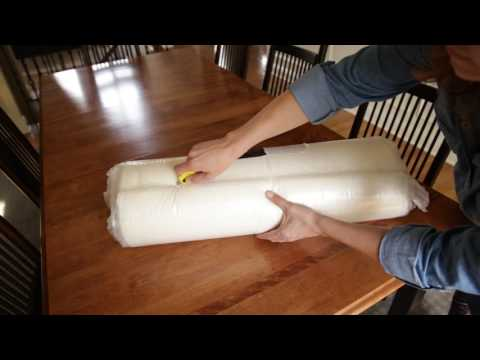 Bed Wedge Pillow Unboxing