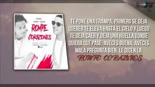 La Rompe Corazones LETRA Daddy Yankee Ft. Ozuna ( Audio Oficial)