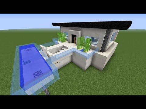 Como hacer casa moderna de 10 x 10 facil doovi for Como hacer una casa clasica de ladrillo en minecraft