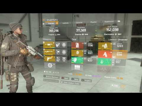 The Division 1.6.1 MP5 High End DPS Build