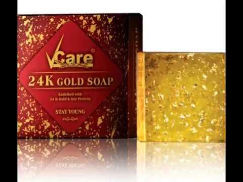 V Care 24 K Gold Soap