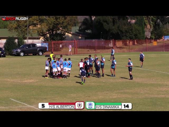 HS Alberton u14 vs  HS Dinamika u14 - Second Half
