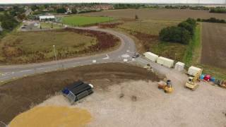 Soham's NEW PETROL STATION takes shape