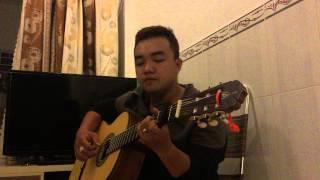 Chiếc khăn gió ấm - solo guitar