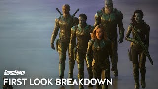Captain Marvel First Look Teaser Breakdown | SuperSuper