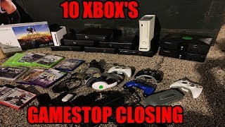 FOUND 10 XBOX'S DUMPSTER DIVING GAMESTOP! GAMESTOP CLOSING DUMPSTER DIVE CLEAN OUT!!!