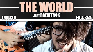 "Death Note (Opening) - ""THE WORLD"" | ENGLISH | Guitarrista De Atena Feat. Rafael Vidaurre"