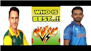 du plasiss century against india south africa 5th odi