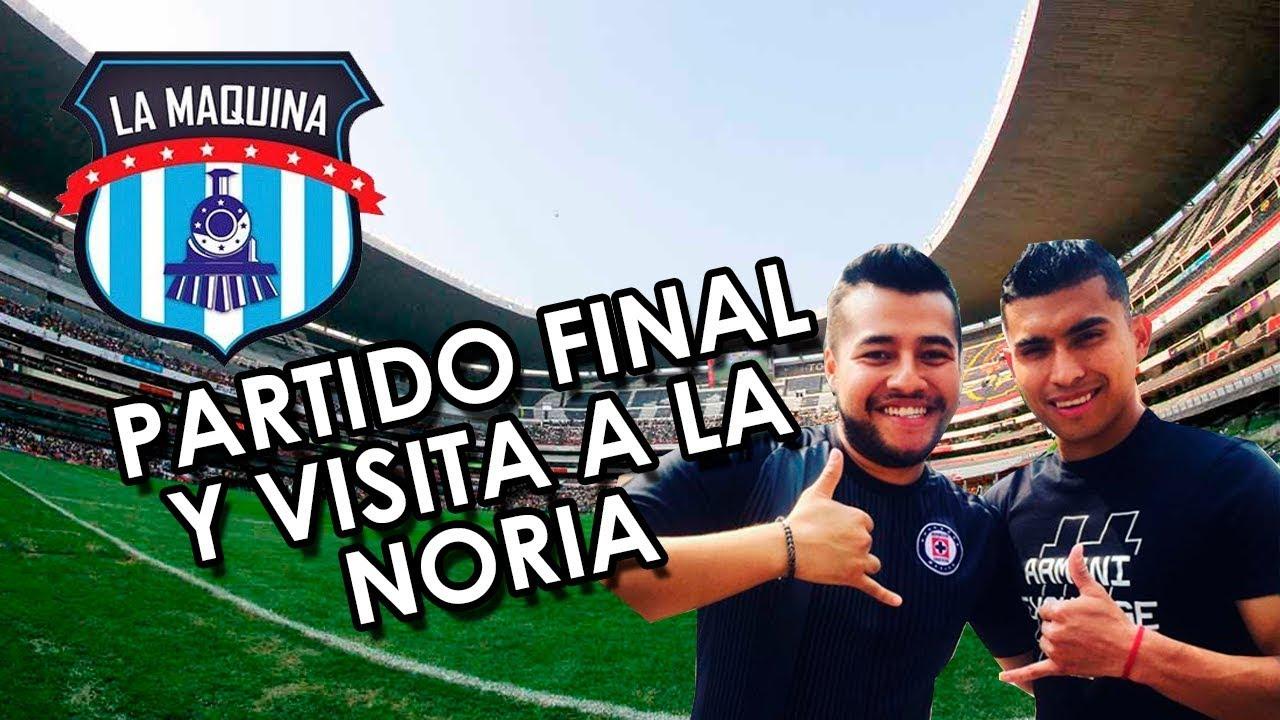 PARTIDO FINAL Y VISITA A LA NORIA!! Reacción desde el estadio CRUZ AZUL GOLEA