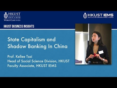 Kellee Tsai: State Capitalism & Shadow Banking In China