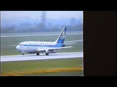 Olympic Airways - Boeing 737-200 - Takeoff DUS (classic)