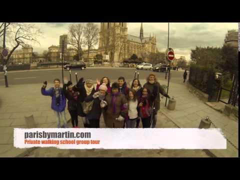 Paris by Martin - Private walking school group tour