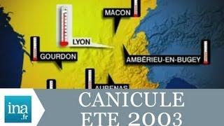 Été 2003 Canicule sur la France, records de chaleur | Archive INA