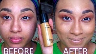 Review+DEMO| BAREMINERALS Bareskin Pure Brightening Serum Foundation Thumbnail
