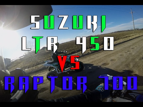 Raptor 700R Vs. LTR 450