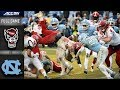North Carolina State vs. North Carolina Full Game   2018 ACC Football