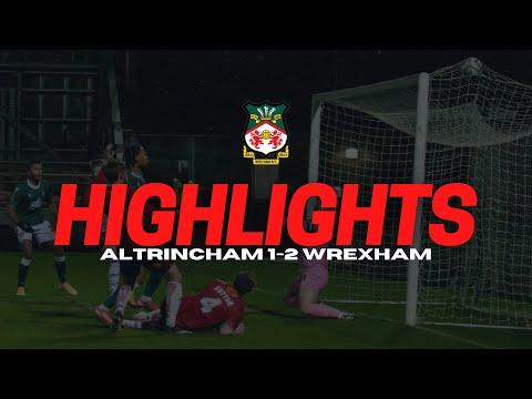 Altrincham Wrexham Goals And Highlights