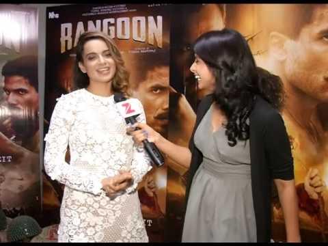 Kangana Ranaut Rangoon Interview