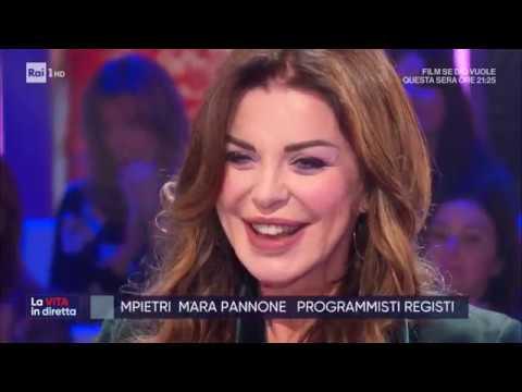Alba Parietti Contro Tutti La Vita In Diretta 27 11 2019