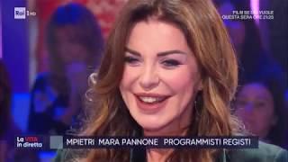 Alba Parietti Contro Tutti - La Vita In Diretta 27/11/2019