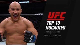 Top 10 Melhores Nocautes de Junior Cigano e Francis Ngannou