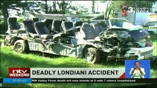 5 die as 14 seater PSV collides with lorry along Nakuru-Kericho highway