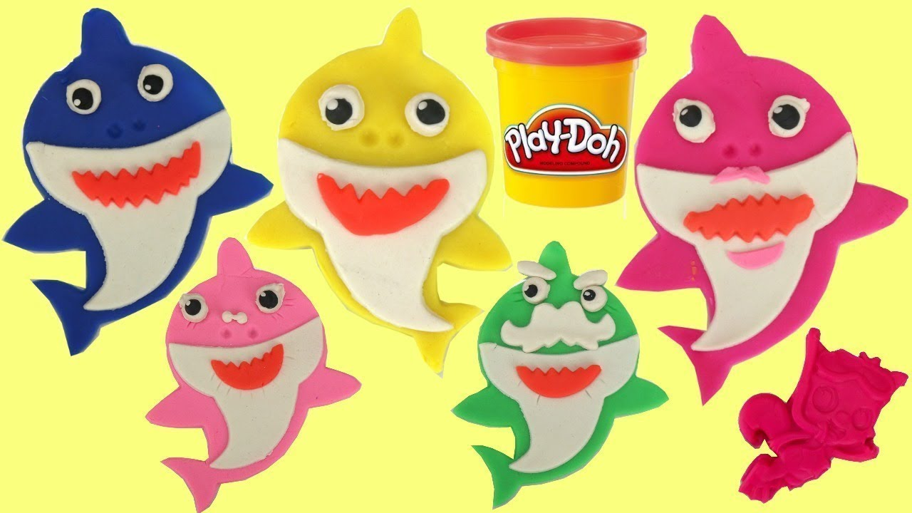 Download Pinkfong Baby Shark Play-Doh Set Molding Family Kit Craft