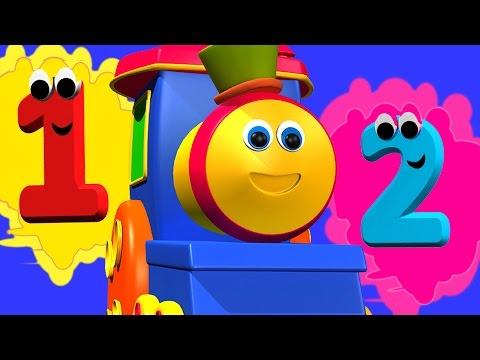 Bob, xe lửa | cuộc phiêu lưu số lượng | video cho trẻ em