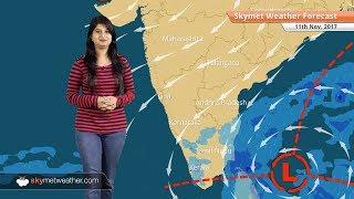 Weather Forecast for Nov 11: Chennai rains to intensify, fog in Punjab, Haryana, smog in Delhi