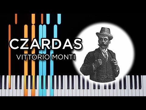 Czardas (Monti) - Piano solo tutorial