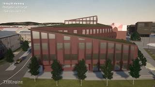 Förslag till utformning - Postgatan och Torget i Gällivare Centrum