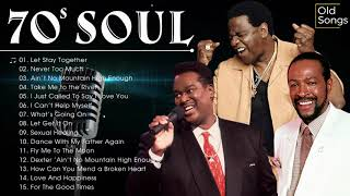 The Best Classic Soul Hits 60s 70s - Marvin Gaye, Al Green, Luther Vandross ,Stevie Wonder and more