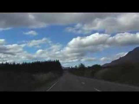 Drive from Te Anau to Queenstown, New Zealand