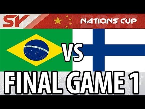 NC 2017 Grand Final | Brazil B vs Finland A | G1